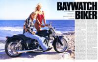 Baywatch-Biker